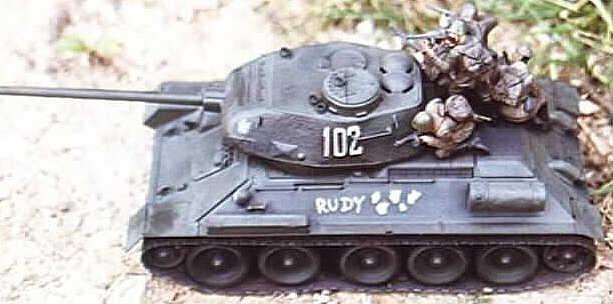 Panzer Der sowjetische T34 von USMilitärs getestet  WELT